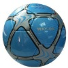 hand sewing soccer ball
