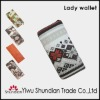 2012 latest Hot sale most fashion ladies wallets