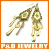 2012 Gold Drop Earrings