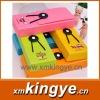 Candy colors, elastic pencil-box