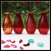 2012 Hot Sale Colorful Glass Vase for Home Decoration
