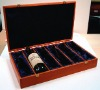 Wooden Wine Box for 6 bottles