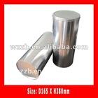 big round metal tin box