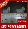 300pairs/lot Silicon end cap for SMD 5050 Led Strips ,Wholesale New Arrival
