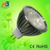 3W chrome led spotlight mr16/GU10