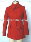 red women suit coat