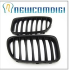 DEDC Bumper Center Front Hood Grill Grille Kidney Matte For BMW X1 E84 09-12