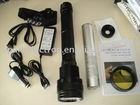 8500lm High quality xenon HID rechargeable torch