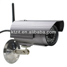 2 YEARS WARRANTY AND BEST PRICE OF OUTDOOR WIRELESSS WIFI/LAN 300K CMOS WTERPROOF IP CAMERA WITH 40-LED IR NIGHT VISION