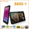"7""5 point capacitive screen VIA8850-1 4GB android 4.0 wifi camera colorful HDMI android tablet"