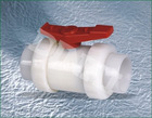 PVDF ball valves socket end