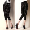 2012 NEW Design! Ladies Fashion Dots Harem Pants (P4007)