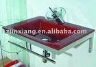 glass bathroom wash basin Jx6150