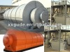 sixth generation silver/blue color scrap plastic/tyre recycling plant