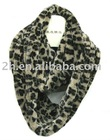 faux fur double rolls scarf FW005