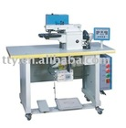 Thermo-cementing edge folder machine