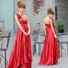 2011 new red cheongsam dress wedding dress LF591