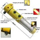 car Flashlight Emergency Hammer Multi-functional-Car-Safety emergency car escape tool
