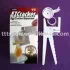 hot sell new design fashion TV egg shell cracker in kitchen