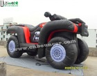 Commerical inflatable off-road motorcycle advertisement