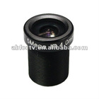 Hot selling 4.0mm 5 megapixel M12*0.5 mega pixel fisheye lens