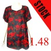 2012 stock round-neck woman t-shirt