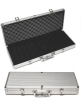 500 aluminum poker chips case