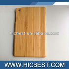 100% GENUINE NATURAL REAL WOOD BAMBOO HARD BACK CASE COVER FOR APPLE NEW IPAD MINI