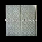 20cm middle groove pvc false ceiling panels for bathroom ceiling tiles in China