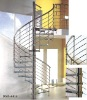 Spiral stainless steel Staircase DMS-6814