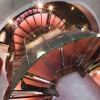 Spiral glass stairs 9004-38