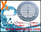 Zinc round floor drain for Europe market-10*10cm/12*12cm size