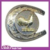 Fancy Belt Buckle with Cartoon Design