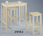 Solid Pine Bar Table ,solid wooden living room bar talbes,2 BARS,clear lacquered.NC