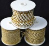 SS8.5 Chinese A Rhinestone Cup Chain for nice decoration