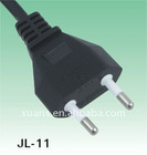 IMQ approval ac power plug JL-11 with Italian power supply cord