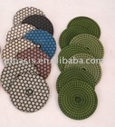 diamond resin polishing pad