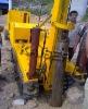 Bottom drive piling machine