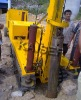 Bottom drive piling machine
