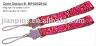 Fashionable Mobile Phone Strap with Charm
