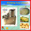 vegetable peeling and cutting machine/potato peeling and cutting machine /0086-15838028622