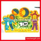 Customer cute soft rubber pvc photo frame