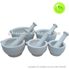 Ceramic Kitchen Mortar And Pestle