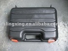 black plastic suitcase box