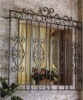 Indoor outdoor wrought cast iron window YL-E122