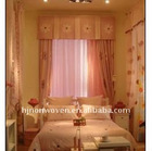 Beautiful organza curtain for wedding room decoration/home decoration organza roll.