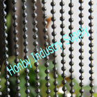 decorative 8mm silver plated ball chain kitchen curtain