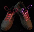 Fiber Optic LED Shoe laces shoelaces neon led strong light flashing shoelace
