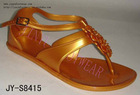 2011 Newest PVC Crystal Sandal