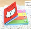 Softcover Memo Pad/Softcover Sticky Notebook